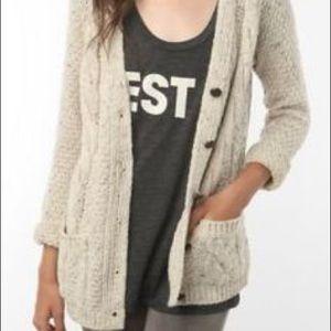 UO BDG Aran Cardigan Sweater